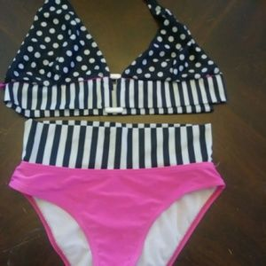 Other - ❤PINK N BLACK BIKINI❤